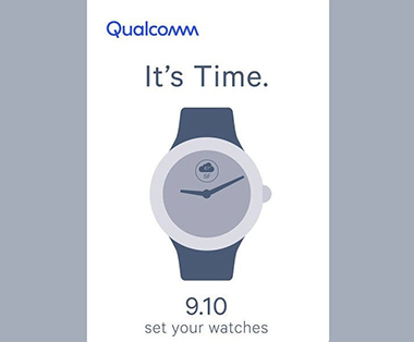 qualcomm CPU pour montre Android 2018