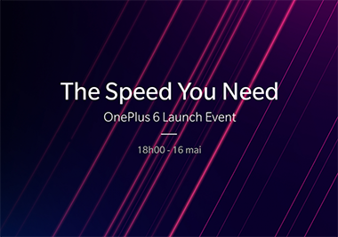 Conference OnePlus Le 16 Mai