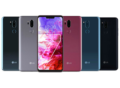 LG G7 thinq coloris