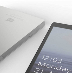 Microsoft surface phone pliable