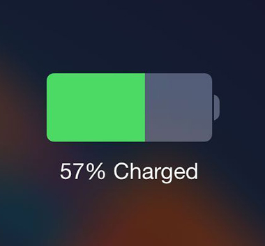 iphone batterie charge