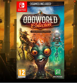 Oddworld collection sur Nintendo Switch
