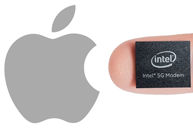 Apple proprietaire des modem 5G intel