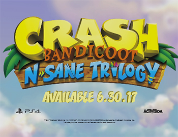 Crash Bandicoot 10 Juin