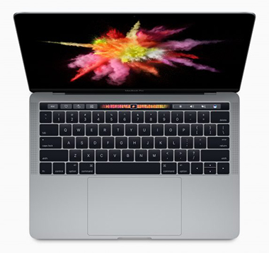 apple macbookpro avec touc barre