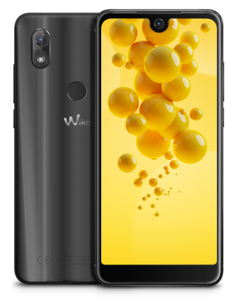 wiko view 2 anthracite compo