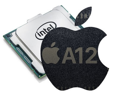Apple laisse lesCPU intel