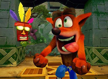 Crash bandicot sur mobile