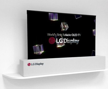 LG ecran flexible Display Stretch