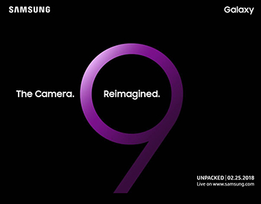 invitation galaxy s9