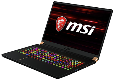 MSI PC Gaming portable GS75 Stealth