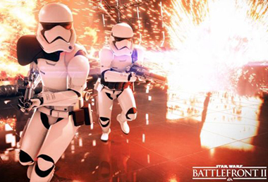 Captures Star Wars Battlefront 2