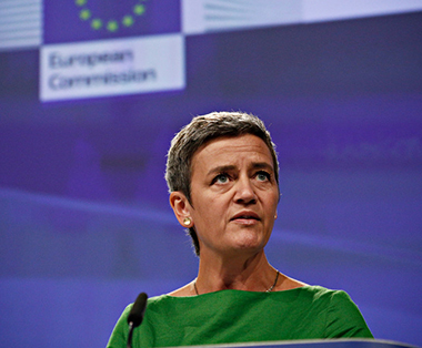 Margrethe Vestager Commisaire europeenne a la concurrence