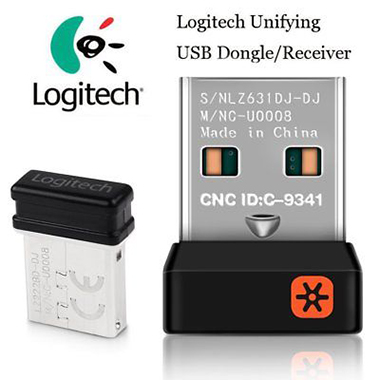 Logitech Replacement Unifying USB Receiver Dongle for Keyboard Mouse