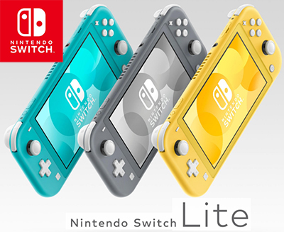 Nouvelle Nintendo Switch Lite