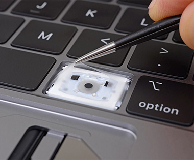 Touche clavier papillon Mac book