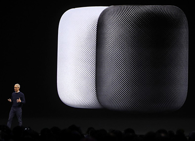 Le homepod ne sera pas disponible en france avant 2018