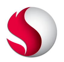 Logo Qualcomm Snapdragon processeur PC