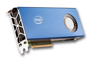 Premiere carte graphique Intel GPU