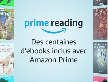 Prime Reading nouveau service Prime Amazon