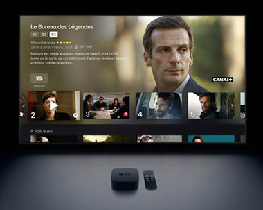 Partenariat Apple TV et Canal Plus