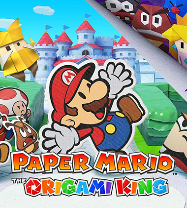 paper mario the origami king.jaquette