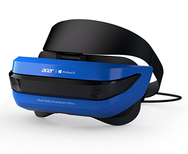 ACER casque VR Mixzd reality development edition