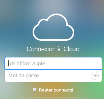 iCloud connect