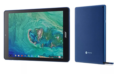 Acer premiere tablette Chrome OS