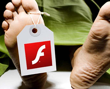 Adobe flash mort