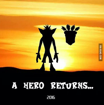 crash bandicoot retour