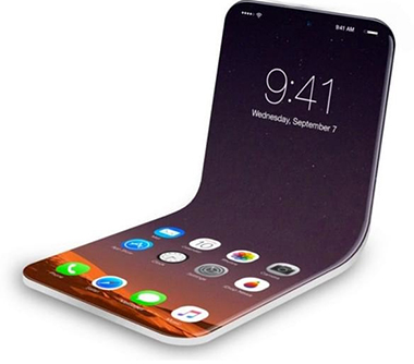 Concept iPhone Pliable