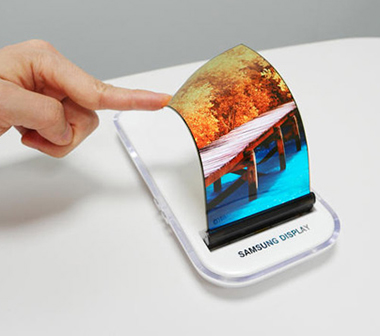 Ecran OLED souple flexible de Samsung Display