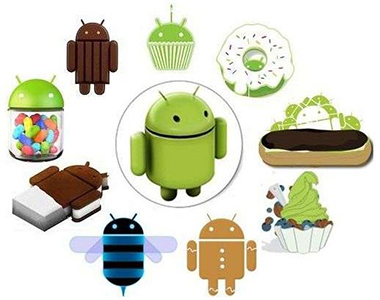 all versions of android