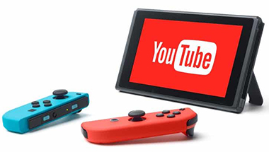 YouTube pour Nintendo Switch