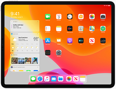 Apple iPadOS Today View 060