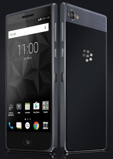 le blackberry motion ne dispose pas de clavier
