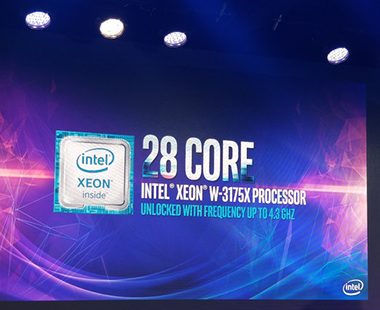 Intel Xeon W3175X CPU 28Core