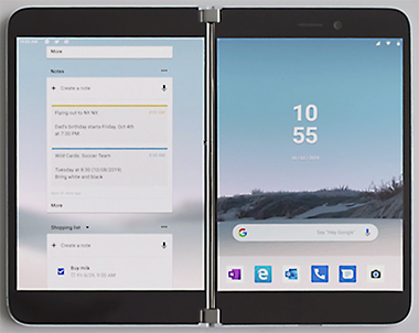Surface Duo le smartphone Microsoft double ecran Android