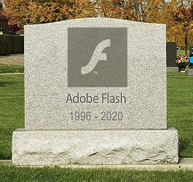 flash player google acheve avec la fin des pages flash