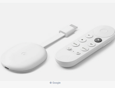 Google Chromecast TV sabrina