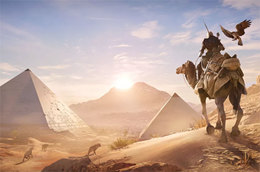 Assassin Creed Egypte tourisme
