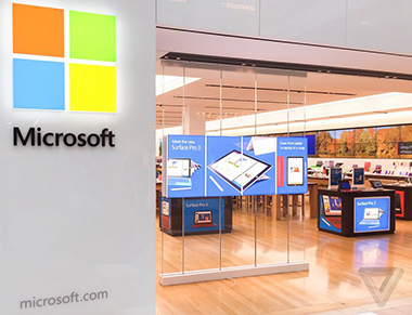 Magasin Microsoft en Europe