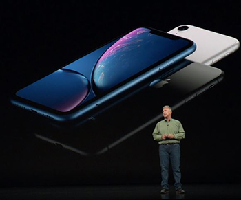 Conference keynote Apple iPhone XR