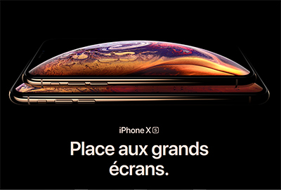 L iPhone XS et XS Max