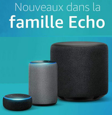 Nouvelle Gamme Echo Dot Echo plus Echo Sub Smart plug