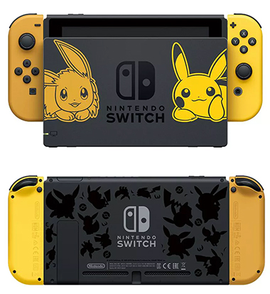 Switch limite version pokemon pikachu